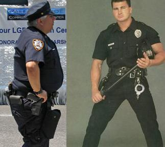 Gay Muscle Cop