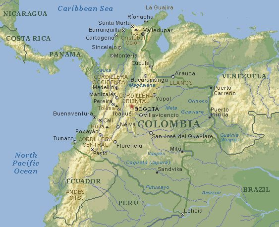 Columbia Or Colombia? That Is The Question…
