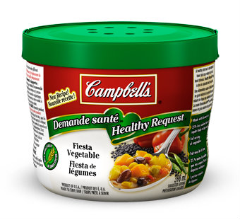 "Somehow Campbell thinks ""Fiesta de légumes"" is Spanish for ""Fiesta Vegetable."""