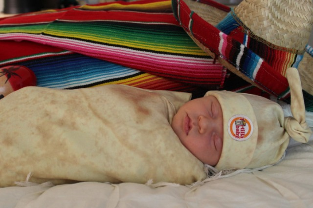 This Company Wants you to Wrap your Infant in a Tortilla