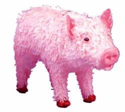 The pig-ñata