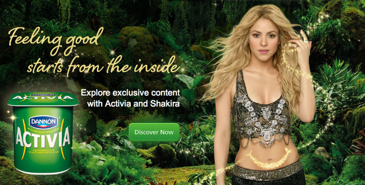 Image result for shakira activia