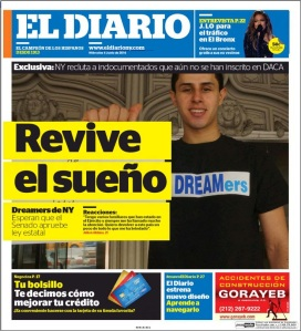 The new 'El Diario.' Just like the regular Diario but with hashtags and bigger pictures