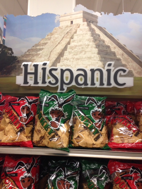 Pyramid... the word 'Hispanic'... burros (donkeys). How can you go wrong?