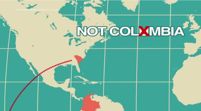At least it acknowledges it's Colombia, not Columbia