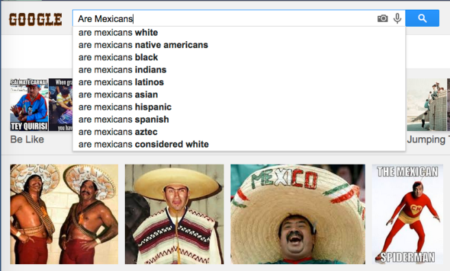 Screenshot: Laura Martínez (a non-Asian, non-Native American Mexican)