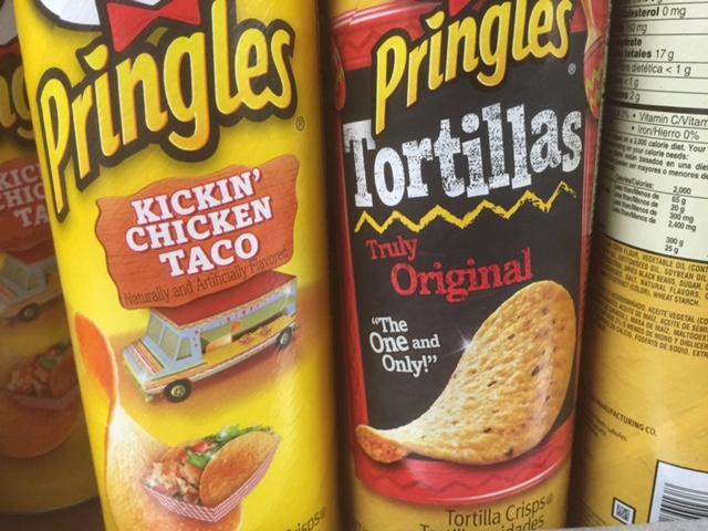 kickin chicken taco pringles