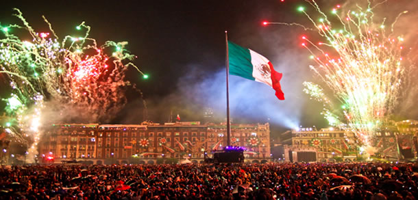 Mexico's independence date in Brisbane