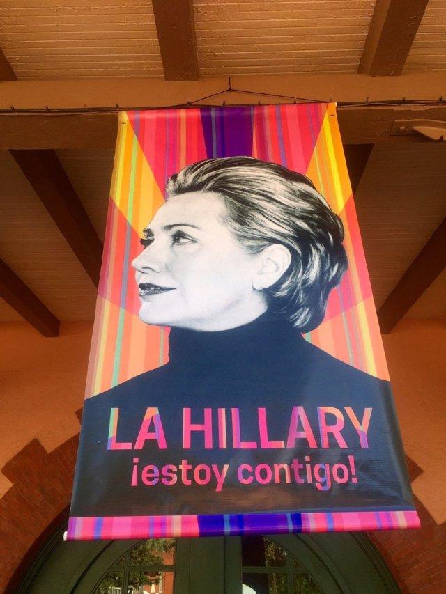 Evita? Hillary?