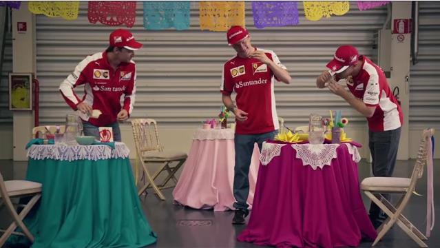 Ferrari drivers get their taco fix