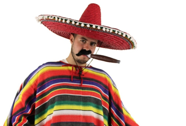 No Mexican costume for you!