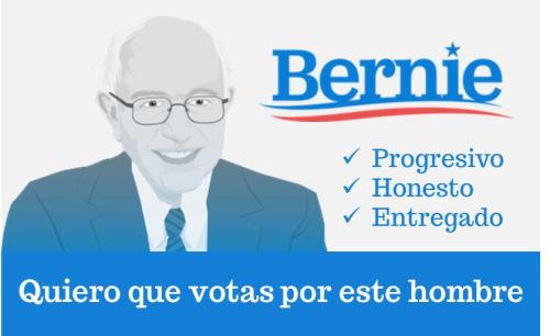 Bernie Sanders Hispanic Spanish campaign