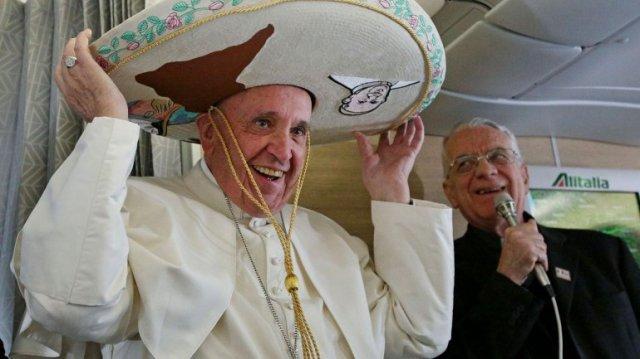 sombrero Pope Francis