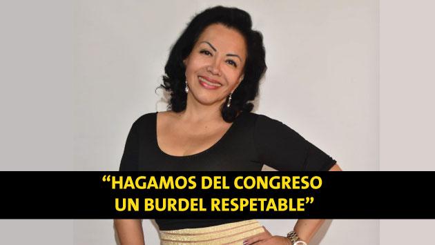 """Let's make the Congress a respectable brothel."""