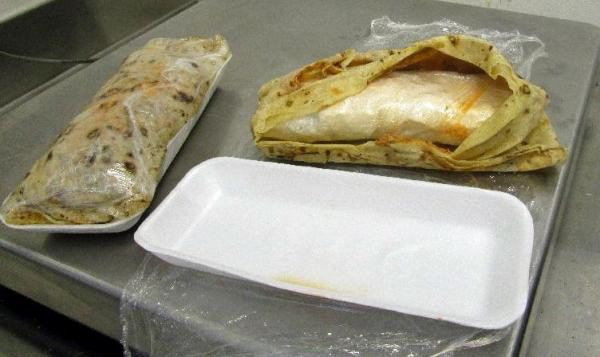 See? Nothing good comes out of a burrito