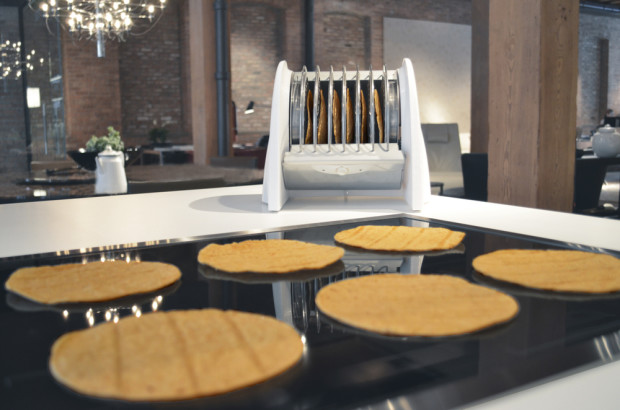 The World's First Tortilla Toaster...
