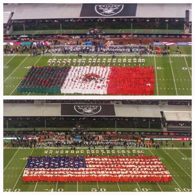 Raiders vs. Texans at the Estadio Azteca Monday, Nov 21, 2016