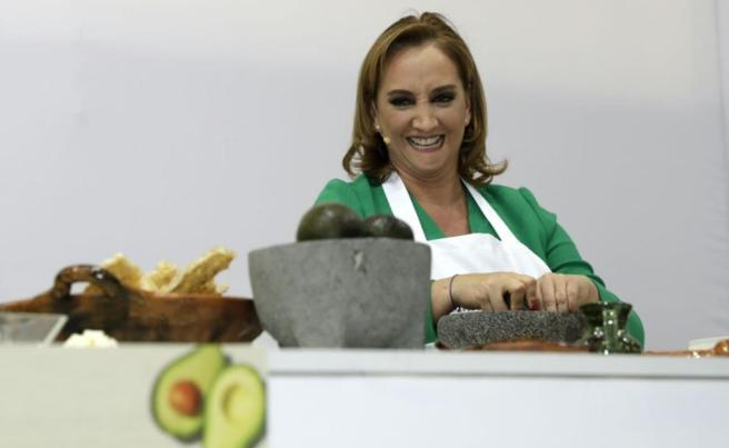 Claudia Ruiz Massieu was the lucky winner of the country's 2016 #RetoGuacamole