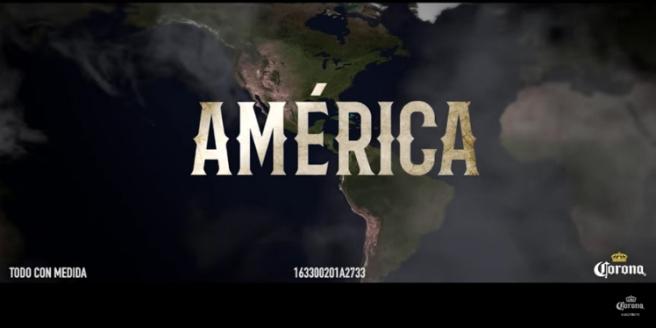 América con acento, por favor