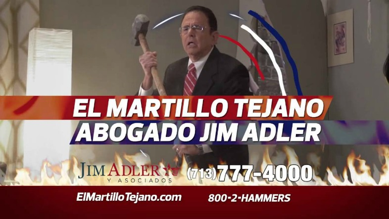 watch out  geico  here comes el martillo tejano