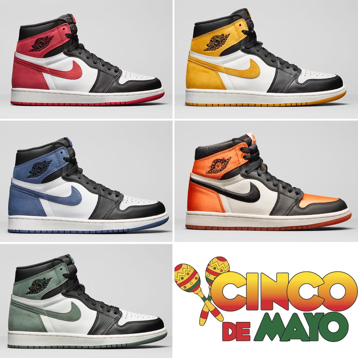 Grab your Maracas and Go Get Yourself a pair of Cinco de Mayo Air Jordans!